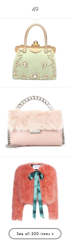 """49"" by alicefalina ❤ liked on Polyvore featuring bags, handbags, miu miu, purses, сумки, hand bags, miu miu handbags, jewel purse, purse bag and shoulder bags"