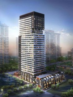 $285,000.00 101 Erskine condos Toronto by CS&P Architects I've chosen to live in Toronto cause walking the streets is pretty much a recreational activity in Toronto