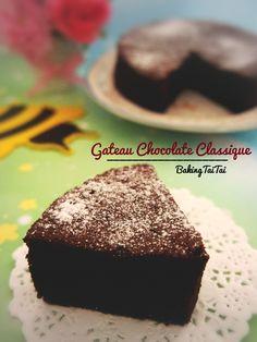 Baking Taitai 烘焙太太: Gateaux Chocolate Classique 经典巧克力蛋糕(中英加图对照食谱)