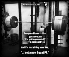 More at >> http://physicalculturist.ca/ Gym humor for bodybuilding, powerlifting, weightlifting, crossfit, etc.
