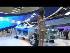 Seoul Motor Racing Model Beautiful Photos Videos