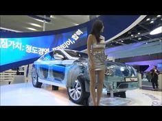 Seoul Motor Racing Model Beautiful Photos Videos