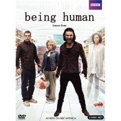 The supernatural emo-goth odd-trio (now a quartet) series returns! Season three of Being Human starts with Mitchell the dashing vampire (Aidan Turner), George the goofy werewolf (Russell Tovey), and Annie the chipper ghost (Lenora Crichlow)--along with Nina, another werewolf, not so goofy (Sinead Keenan)--all moving to an abandoned, Hawaiian-themed bed-and-breakfast in Wales to avoid some trouble they'd gotten into back in Bristol.