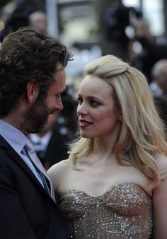 Rachel McAdams and Michael Sheen. I want my own hot British guy! (I'll also take Scottish, Irish, and maybe even a Spanish guy:-D )