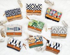 I love to make mini wallets ♥ check out all my products :-) Handmade Wallets, Bohemian Accessories, Purses, Boho, Mini, Check, Crafts, Vintage, Products