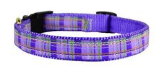 Perris Ribbon Dog Collar BlackPink Plaid Small 1115Inch -- More info could be found at the image url.(This is an Amazon affiliate link and I receive a commission for the sales)