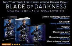 "If you're looking for a fun weekend read, BLADE OF DARKNESS is Now Available in #paperback, #ebook & #audiobook!! Return to the ""utterly addictive"" (RT Book Reviews), ""fast-paced and humorous"" (Publishers Weekly) world of my Immortal Guardians, full of #action, passion, #humor and #romance. :-) https://www.amazon.com/Blade-Darkness-Immortal-Guardians-Book-ebook/dp/B073V23CGT #paranormal #paranormalromance #romance #action #humor #mustread"
