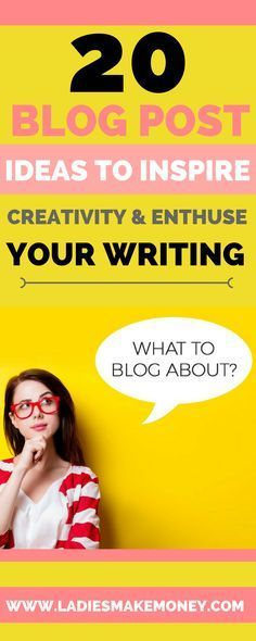 20 Blog Post Ideas to Inspire Creativity and Enthuse Your Writing. Blog post ideas for beginners. Blog post ideas list. Blog post topics. Blog topics list. Post ideas for your blog. Ho to start a successful blog. Blog post ideas list lifestyle. Post ideas for blogs. What to write about. What to blog about. Blog topic inspiration.