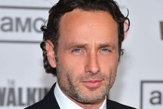 Andrew Lincoln arrives at the premiere of AMC's, 'The Walking Dead' 3rd Season.