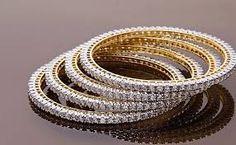 Image result for real diamond bangles designs