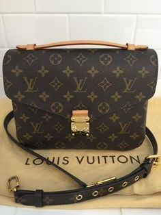 Louis Vuitton Pochette Metis 2014 Brown Cross Body Bag. Get the trendiest Cross Body Bag of the season! The Louis Vuitton Pochette Metis 2014 Brown Cross Body Bag is a top 10 member favorite on Tradesy. Save on yours before they are sold out!
