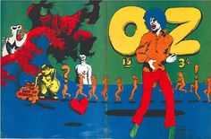 Every issue of OZ, London's legendary psychedelic newspaper, is available online | Dangerous Minds