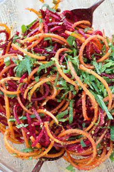 Natural Zing Official Blog: Spiralized Summer Beet Salad