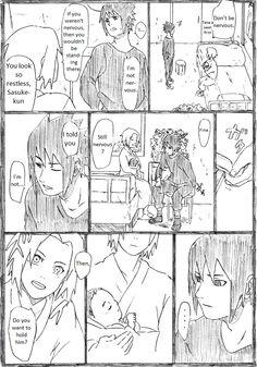 SasuSaku family doujinshi page 2