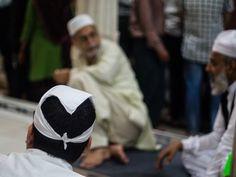 At the Hazrat Nizamuddin Dargah, New Delhi, India