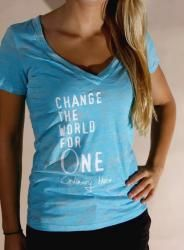 Change the world for ONE t-shirt $35
