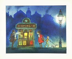 Hans Arnold - Tidningsställ i afton Painting, Art, Pictures, Art Background, Painting Art, Kunst, Gcse Art, Paintings, Painted Canvas