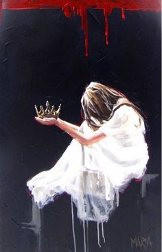 Original Fine Art Painting by Maria Magdalena Oosthuizen. Medium: Acrylic on Canvas. Stretched, and Blocked, Not Framed. Christian Paintings, Christian Art, Braut Christi, Spiritual Images, Bride Of Christ, Prophetic Art, South African Artists, Jesus Art, Biblical Art