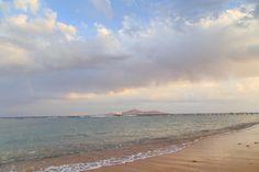 Beautiful sea with pier