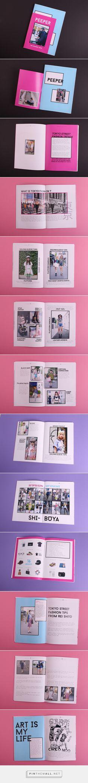 -student project- PEEPER Street Fashion Magazine on Behance - created via https://pinthemall.net