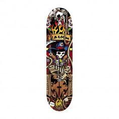 Skateboard-mod. COWBOY. Lo skateboard COWBOY ha una tavola di 9 strati di acero porcellana con forma arrotondata eruote 54x36mm. Sceglilo per mostrare le tue evoluzioni!! #skateboard #FunSport #Roces