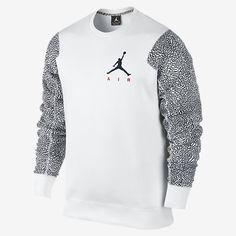 Jordan Elephant Fleece Crew Men s Sweatshirt Jordan Sweatshirt beecc1c6022f