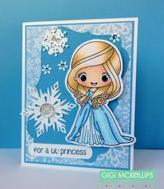 The Cricut Bug: Stamp AnnieThing February Release Day 1- Giselle