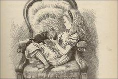 John Tenniel's original illustration from Alice in Wonderland