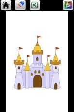 dibuja y colorea tu castillo