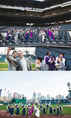 Pittsburgh wedding photographer.  Ceremony at Heinz Chapel and reception at PNC Park's Lexus Club.  Man Nguyen Photography.  A modern wedding photographer.  www.mannguyen.com