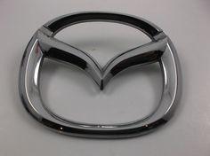 Mazda 626 Protege Trunk Lid Emblem 98-02 Chrome B25D-51-730 OEM  badge 9886  #Mazda