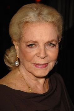 """""""I think your whole life shows in your face and you should be proud of that."""" ~Lauren Bacall"""