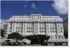 Brasilian Art Deco: Copacabana Palace Hotel, designed by the french architect Joseph Gire (1919/1923). Rio de janeiro, Brasil.