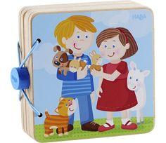 Babybok i tre med dyr fra Haba Family Guy, Fictional Characters, Fantasy Characters, Griffins