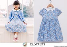 Princess Charlotte of Cambridge - Trotters Betsy Dress from the Lily Rose Collection Princess Charlotte Dresses, Princess Sofia Of Sweden, Smocked Baby Dresses, I Love Girls, My Little Girl, Royal Fashion, Kids Outfits, Kids Fashion, Girls Dresses