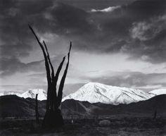 Ansel Adams, Sunrise, Mt Tom, Sierra Nevada, California, 1948.