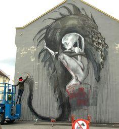 Streetart by Herakut