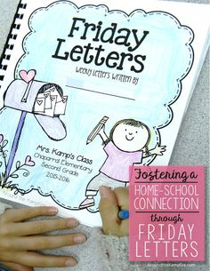 Fostering the home-school connection through Friday Letters. Tips for using this simple, yet powerful tool with your students -plus a free letter writing starter kit with parent …