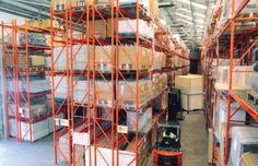 Double Deep Pallet Racking Systems