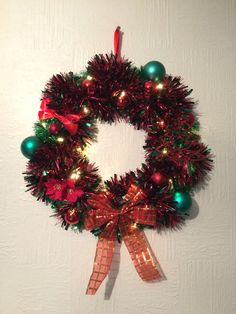 Traditional Bow Wreath
