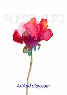 sweet pea painting - Google Search                                                                                                                                                                                 More