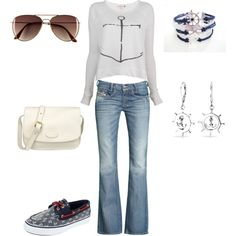 """""""Set Sails!"""" by lexi-mcpeck on Polyvore"""