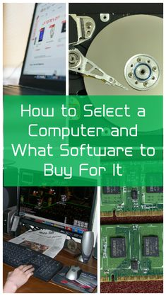 PC Buying Help: How to Select a Computer and What Software to Buy For It