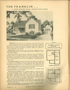Sears Franklin  1934(3405); 1935(3405); 1936; 1937(3405) 2of2 Franklins