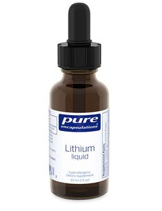 Lithium liquid (micro-dose) 30 ml by Pure Encapsulations