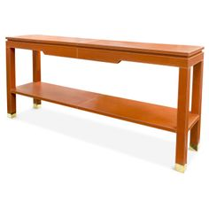 Anxious to purchase this Jonathan Adler Preston Console Table for the living room.