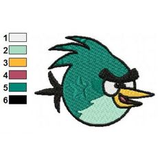 Angry Birds Space Embroidery Design 26