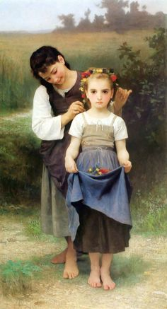 The Jewel of the Fields by William-Adolphe Bouguereau