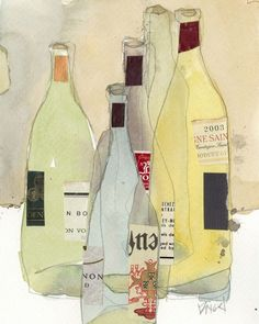 Wines and Spirits I Wall Art, Canvas Prints, Framed Prints, Wall Peels Wall Art Prints, Canvas Prints, Framed Prints, Canvas Frame, Big Canvas, Impressionist Artists, Watercolor Artwork, Wine And Spirits, Wrapped Canvas