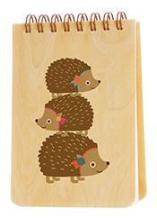Hedgehog Jotter from Night Owl Paper Goods